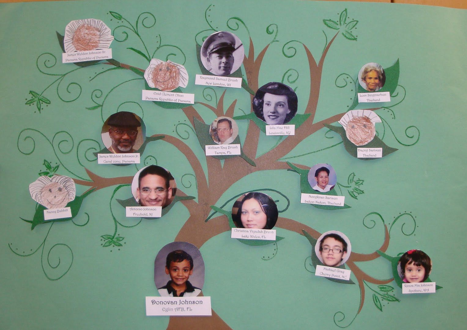 Sample Family Tree History Pinterest Family Trees