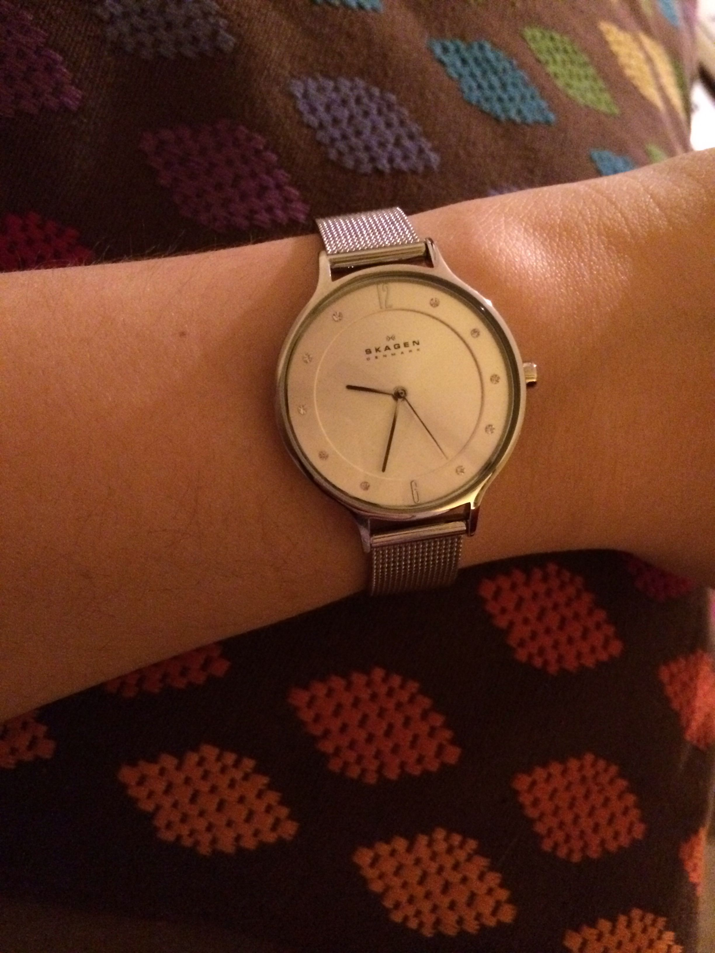 Obsessed with my new Skagen watch!