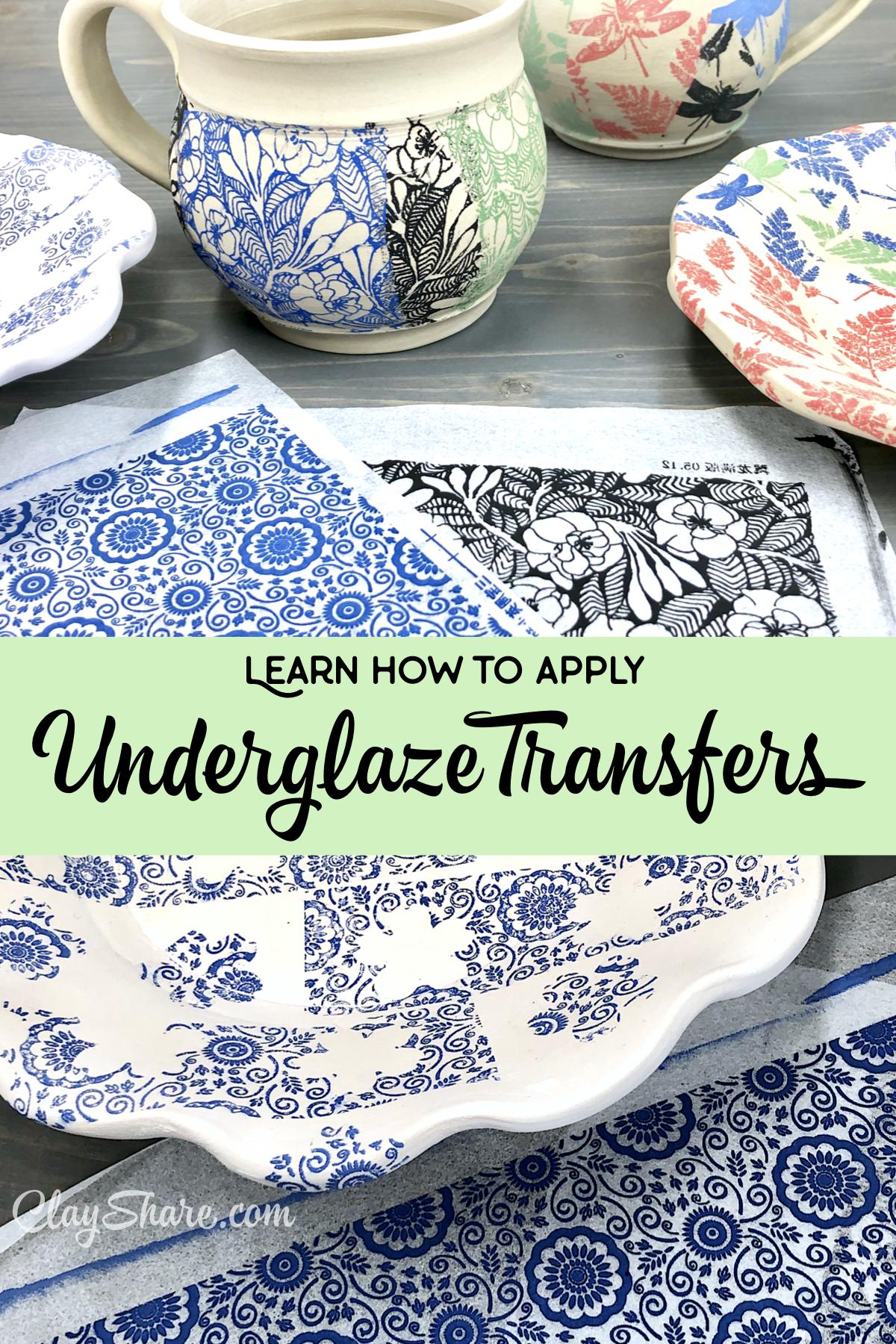 Make Beautiful Patterned Pottery!