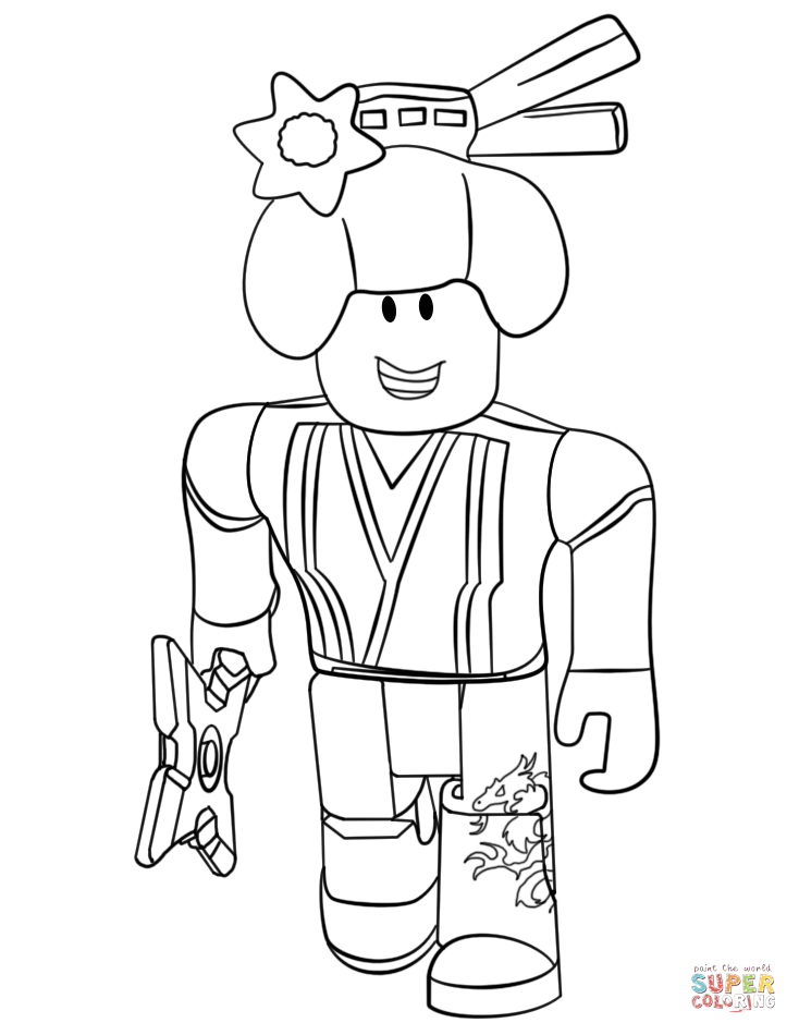 Roblox Ninja Coloring Page Free Printable Coloring Pages Coloring Pages Cool Coloring Pages Cartoon Coloring Pages