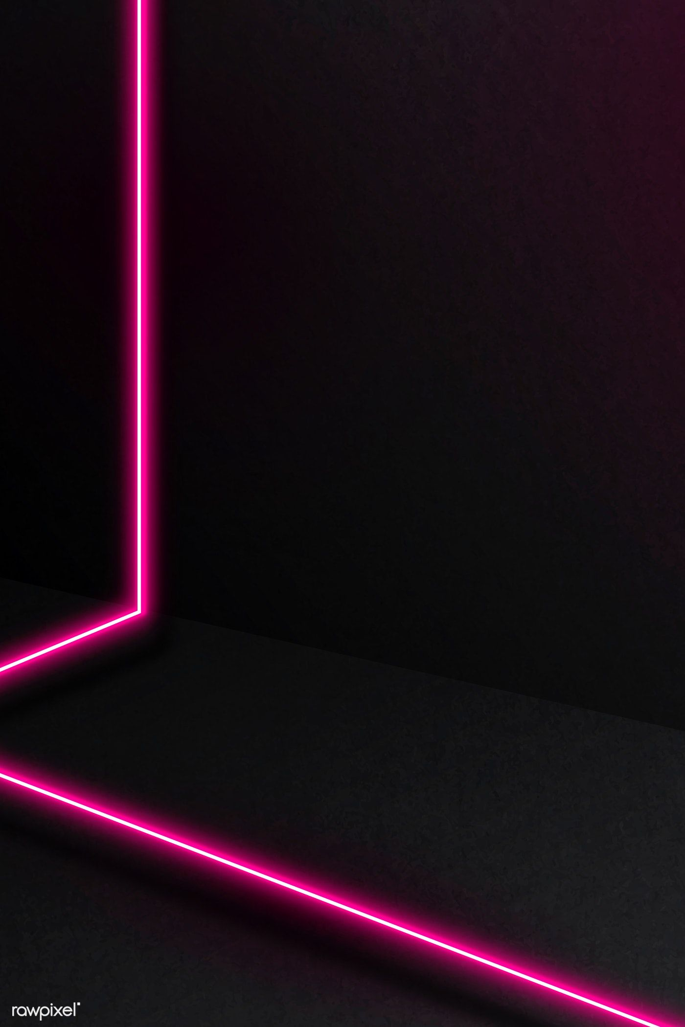 Download Premium Vector Of Pink Glowing Lines On Dark Background Vector Dark Background Wallpaper Dark Backgrounds Pink And Black Wallpaper