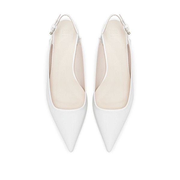 Pointed toe shoes, Slingback shoes