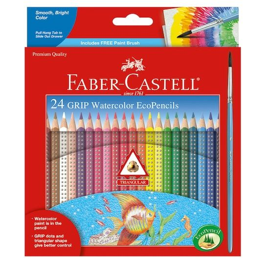 Faber Castell Grip Watercolor Ecopencils Art For Rebecca