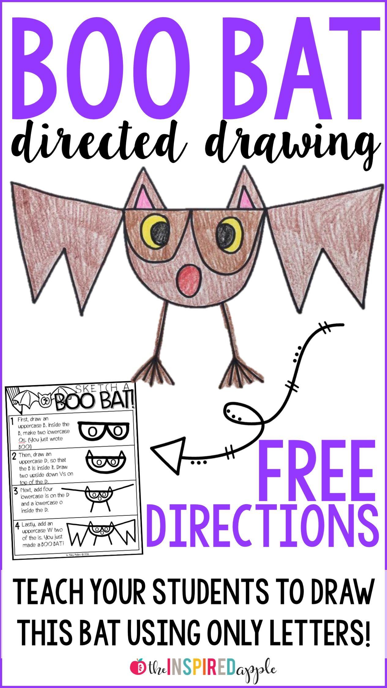 Bat Directed Drawing