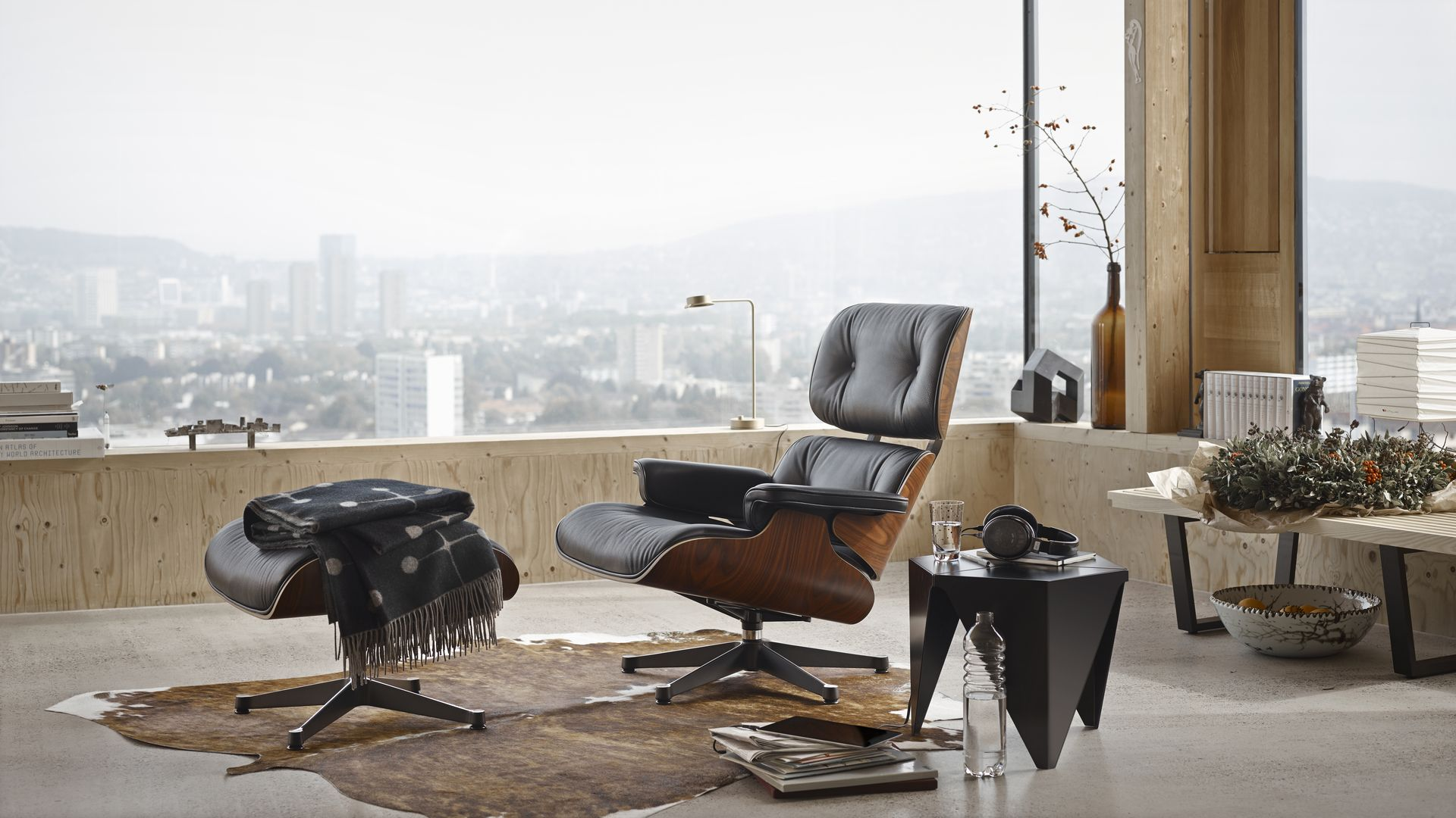 Lounge Chair Ottoman By Vitra In 2020 Eames Lounge Chair Vitra Lounge Chair Vitra Lounge