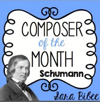 Music Composer for the Month: R. Schumann- Bulletin Board Pack