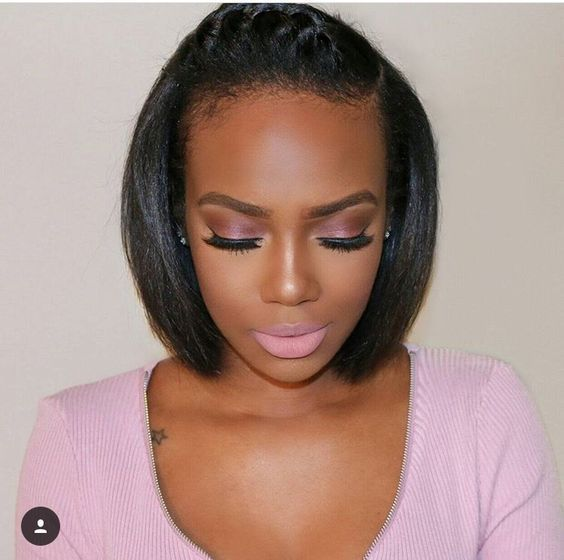 8 Pretty African American Short Hairstyles Ideas 2019 Relaxed