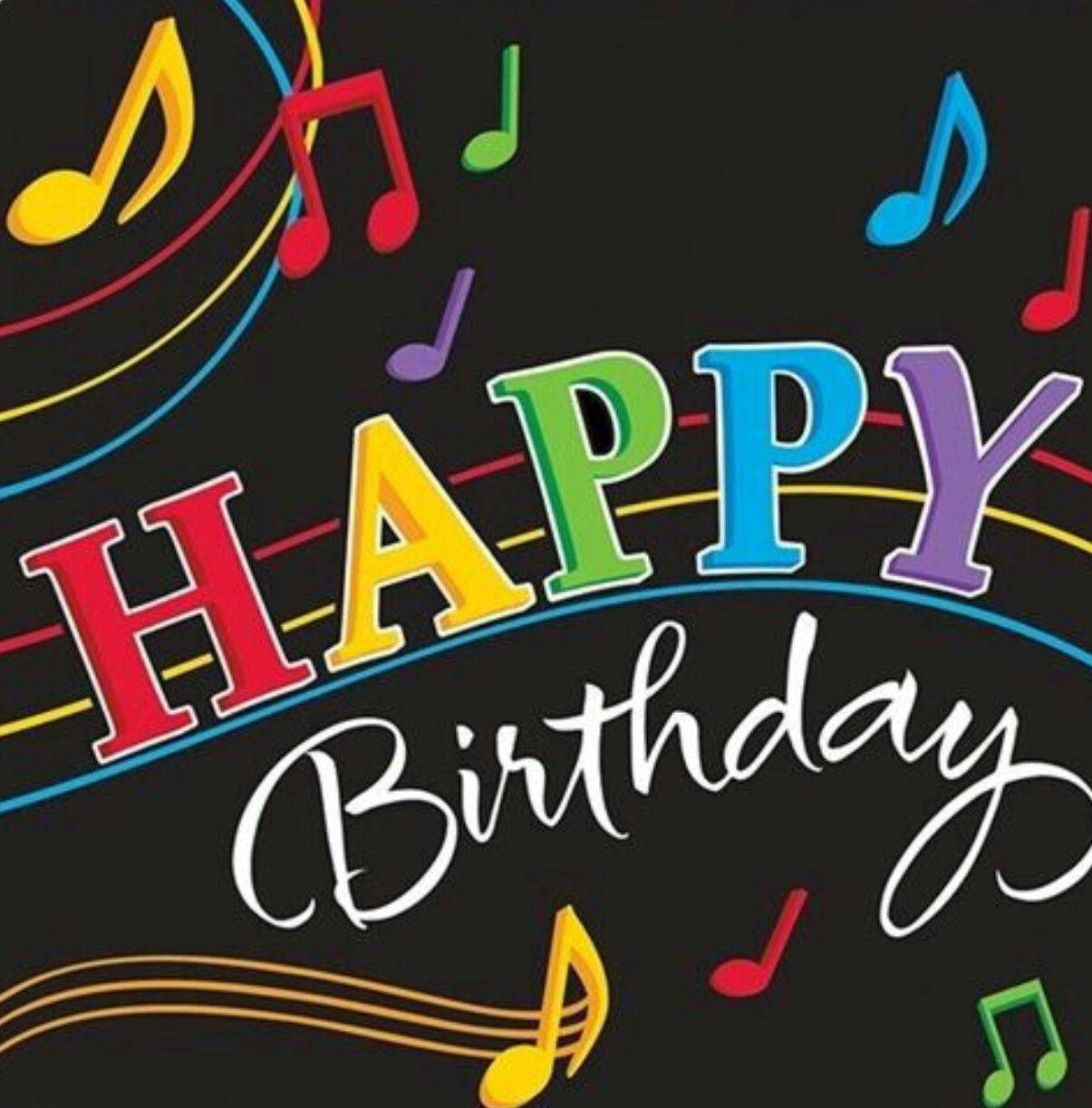 Pin By Amparo Escobedo On Birthday Wishes Happy Birthday Dancing Happy Birthday Music Happy Birthday Song