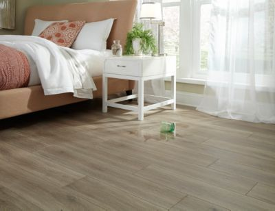 Basement floor? AquaGuard Calico WaterResistant Laminate
