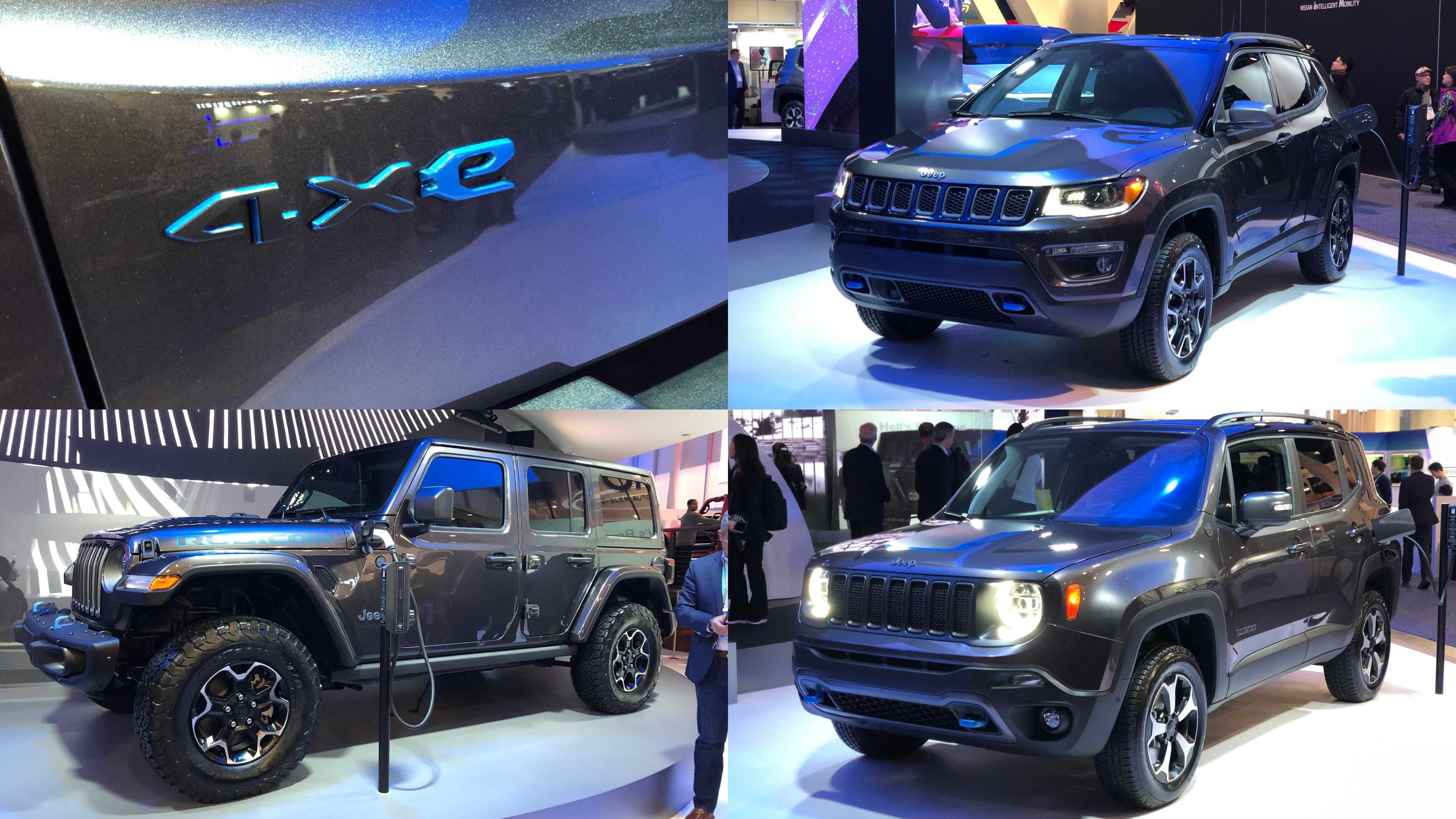 Check Out Jeep Wrangler 4xe Phev Plugged In And Charging At Ces In