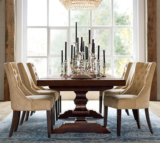 Pottery Barn Dining Table  Dining Tables  Pinterest Simple Pottery Barn Dining Room Tables Review
