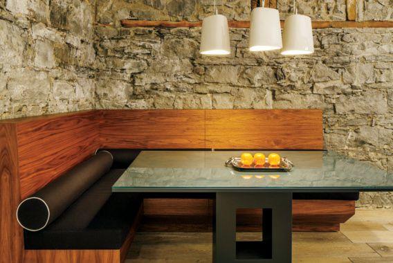 Renovation Loft Design A L Italienne Aux Jardins D Youville Dans Le Vieux Montreal Decorm Salle A Manger Contemporaine Cuisine Contemporaine Cuisines Design