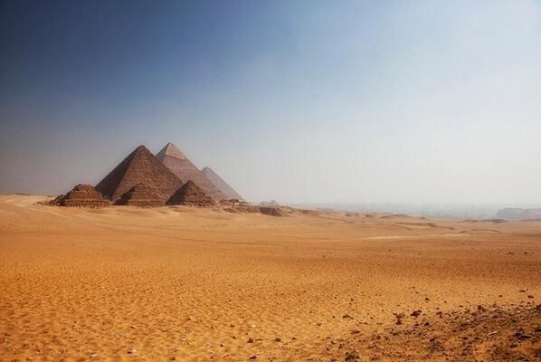 #StoryOfEarth The Great Pyramids of Giza near Cairo, Egypt