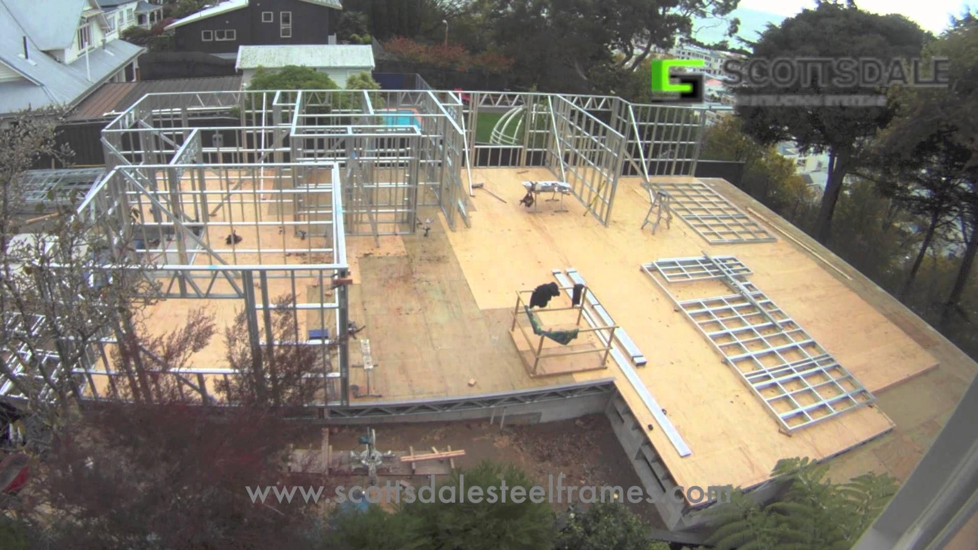 light gauge steel frame house erection | light gauge metal/steel