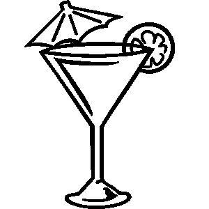 27+ Martini glass clipart pink ideas