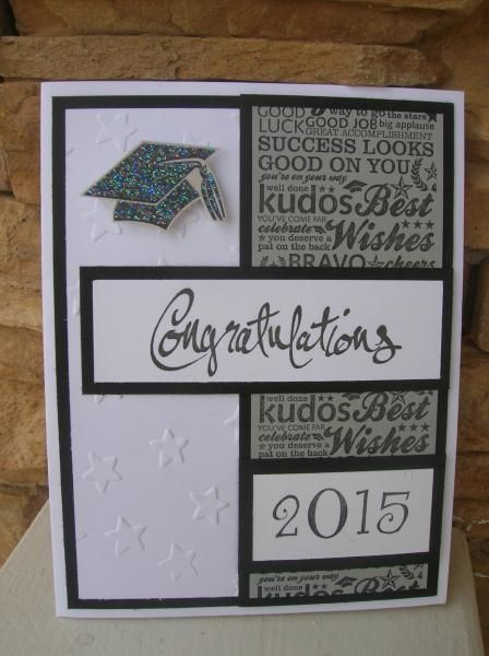 Photo of Congratulations 2015 by calmag – Cards and Paper Crafts at Splitcoaststampers