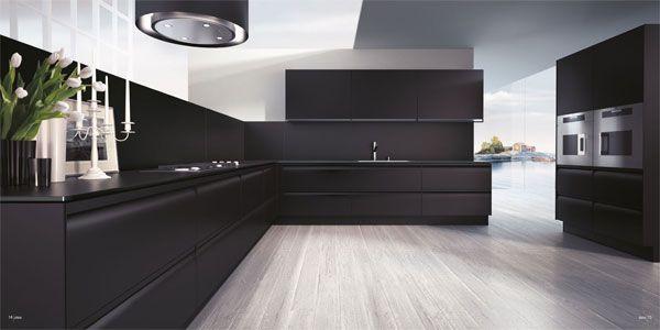 13 Amazing Kitchens with Black Appliances (Include How to Decorate - nolte küchen zubehör