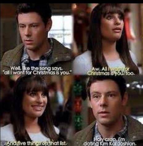 Glee Christmas Glee Memes Glee Quotes Glee