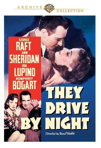 They Drive By Night Dvd 1940 Film Noir Bogart Movies Classic Movie Posters
