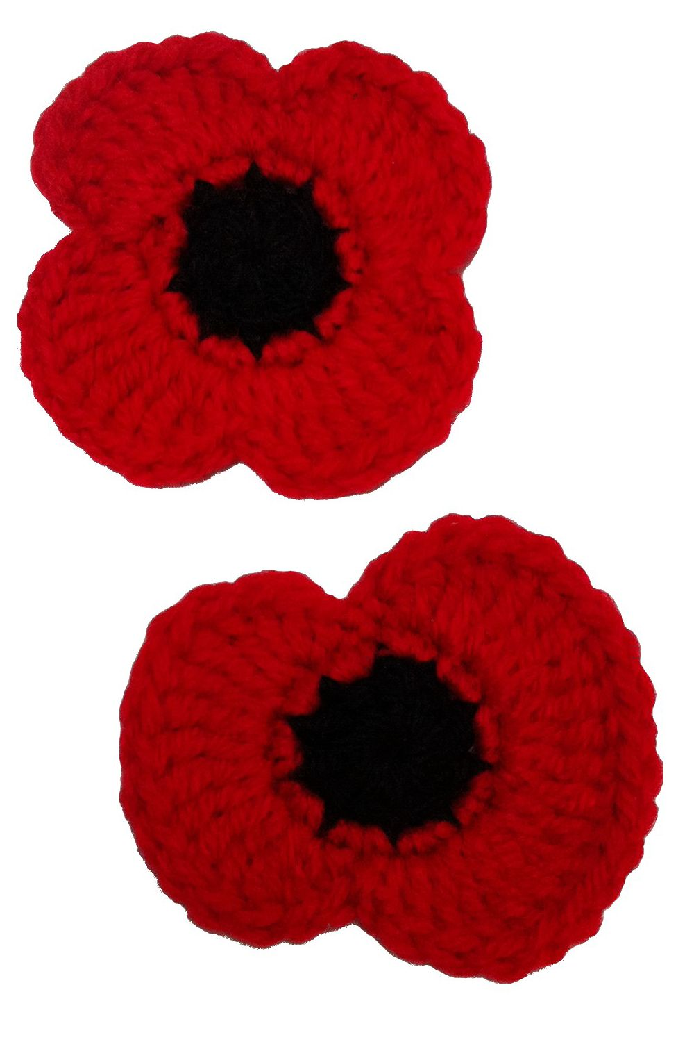 Free crochet pattern remembrance poppies things to wear free crochet pattern remembrance poppies mightylinksfo