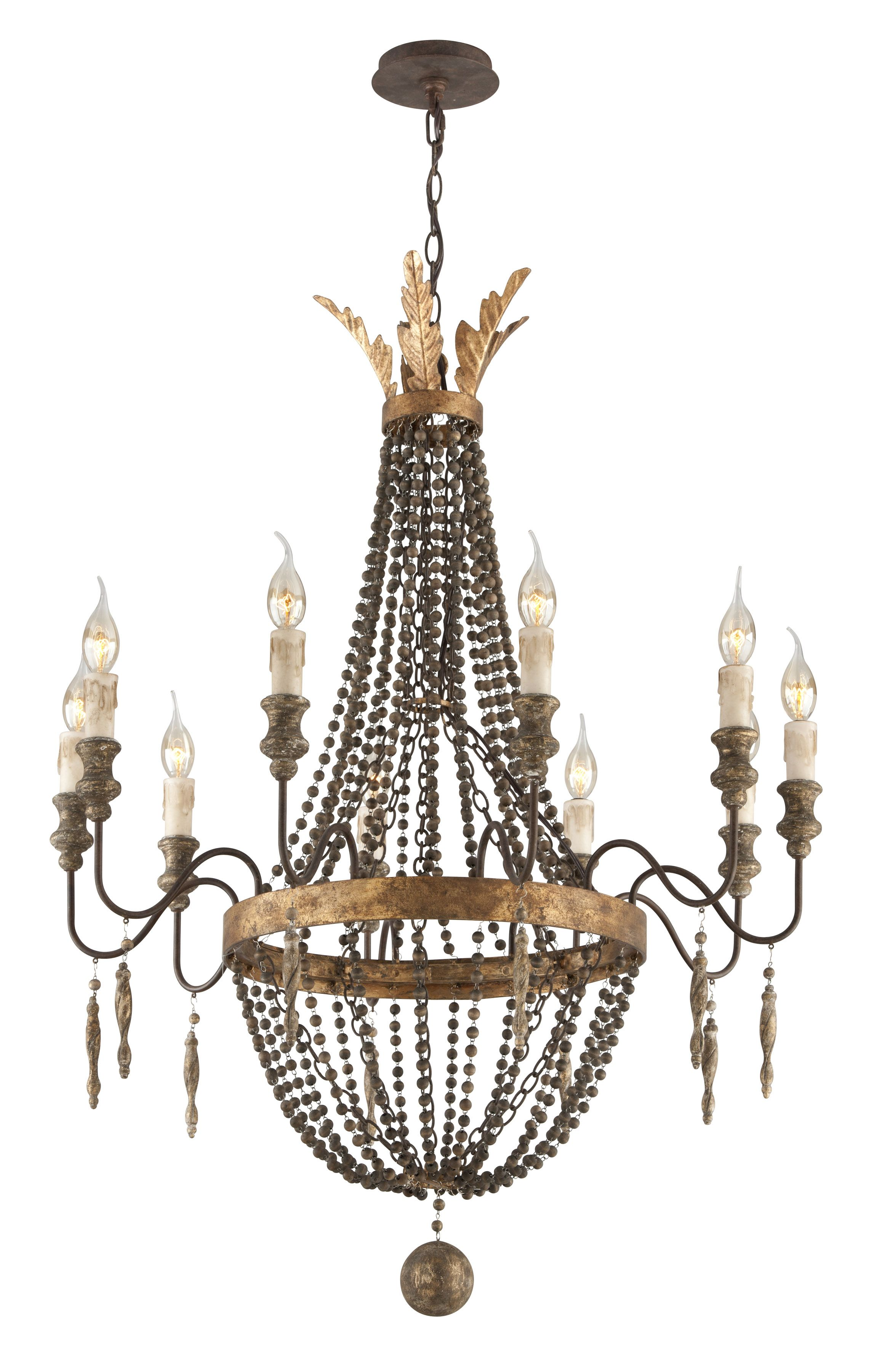 Delacroix By Troy Lighting For A New Chandelier In The Dining Room