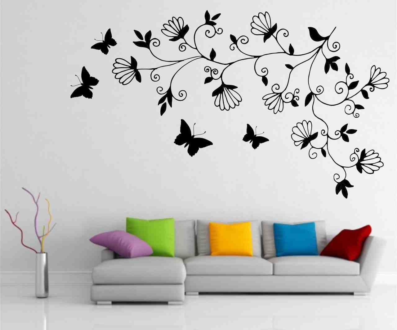 Wall Paintings For Living Room With Images Simple Wall