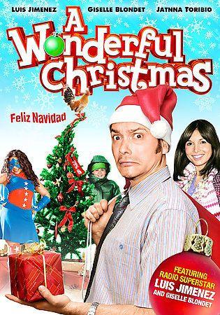 A Wonderful Christmas Dvd Luis Jimenez English Spanish Menus Blondet Toribio Christmas Dvd Feliz Navidad Navidad