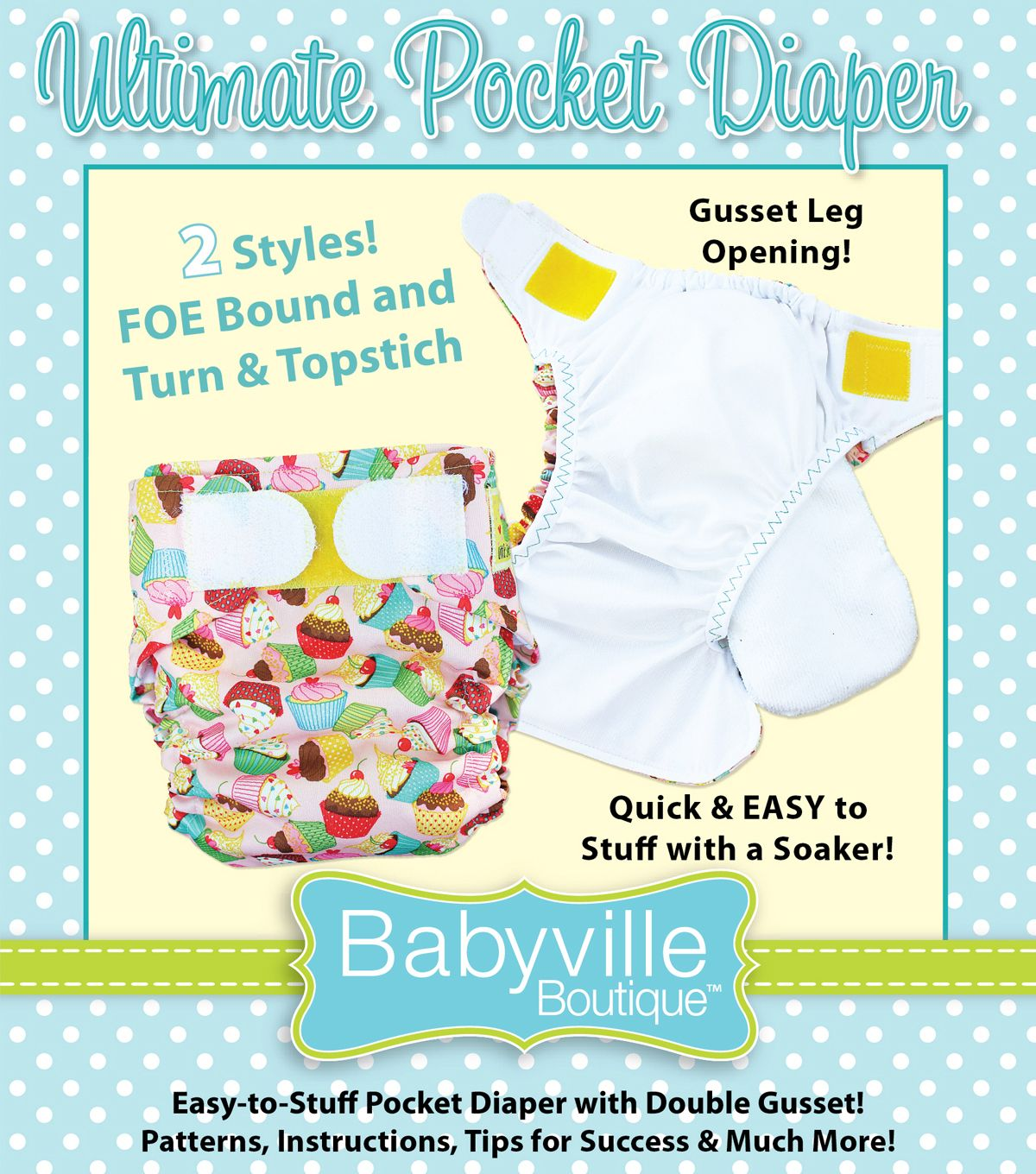 Diy pocket diapers from babyville boutique sew cute cloth diy pocket diapers from babyville boutique sew cute cloth diapers jeuxipadfo Image collections