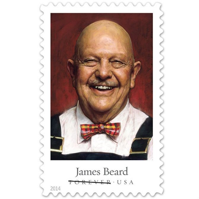 US Postal Service Honors Legendary Chefs with Stamp Series