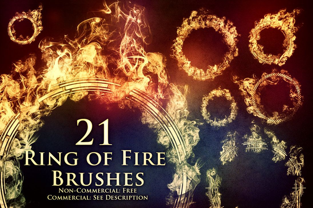 21 Ring of Fire Brushes by XResch brushes