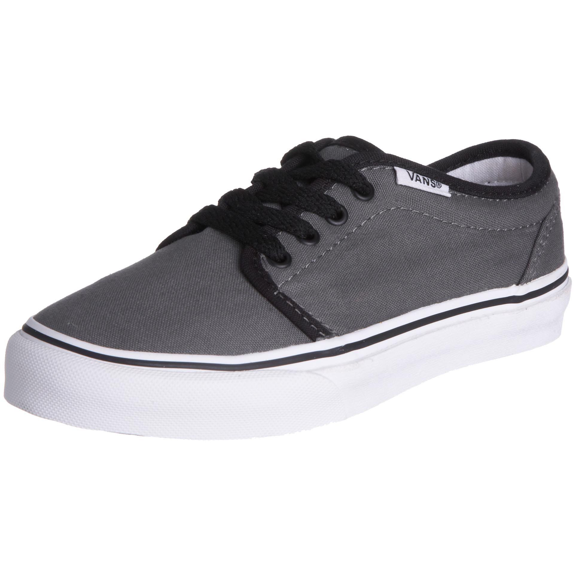 Vans Boys 106 Vulcanized Pewter/Black11 Toddler >>> Check out this great  product