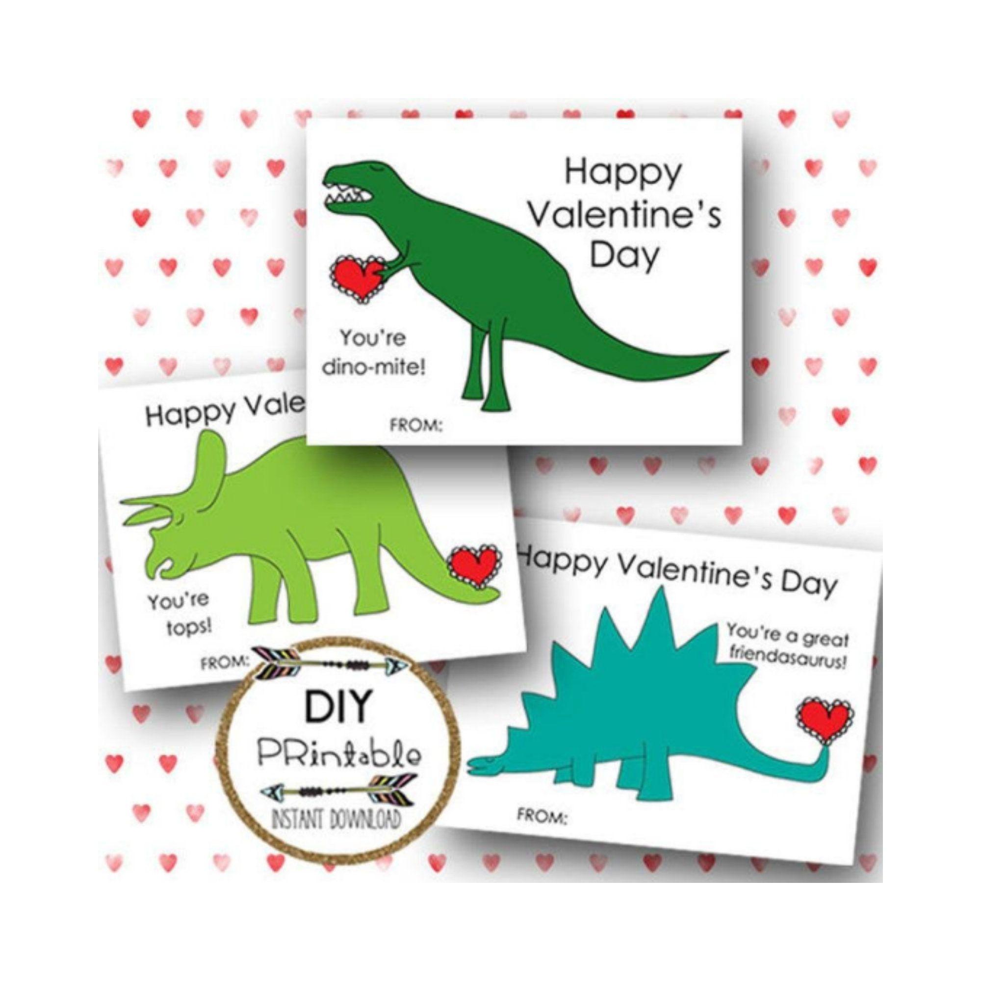 printable dinosaur valentine cards dinosaur valentines
