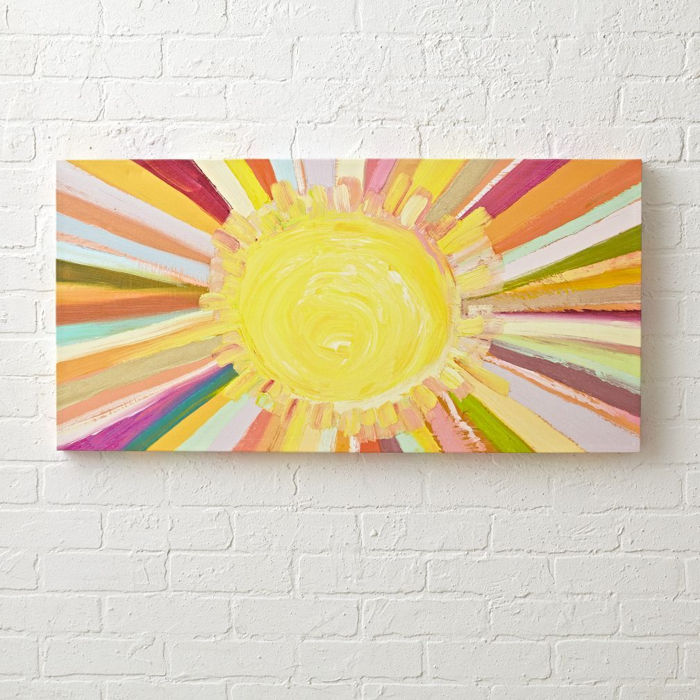 Shop Colorful Sunshine Painting. Bring a little sunshine into your ...