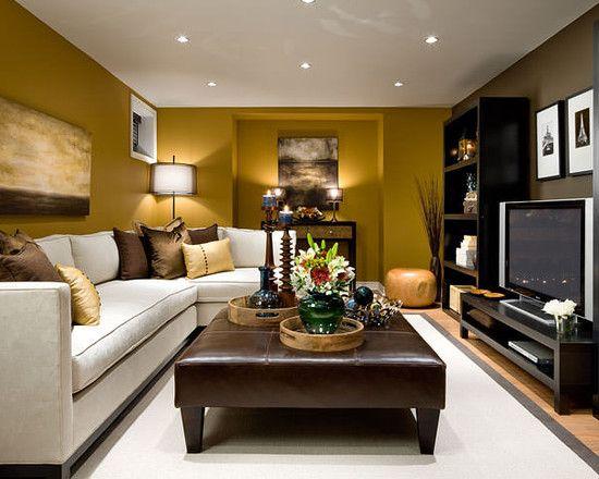 Jane Lockhart Basement Family Room Long Narrow Living Room