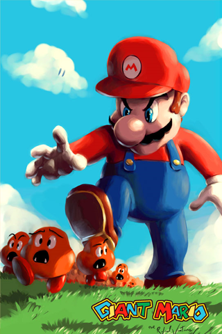 Evil Giant Mario Caricaturas Images, Photos, Reviews