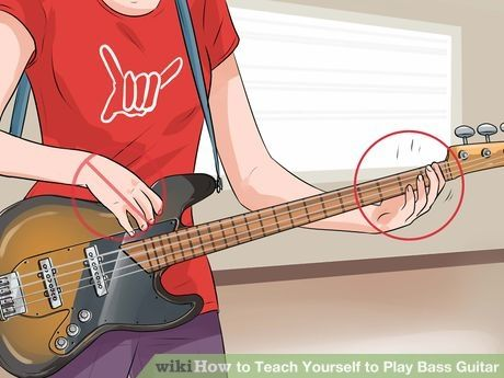 How To Teach Yourself To Play Bass Guitar Bass Guitar Bass Guitar Lessons Guitar