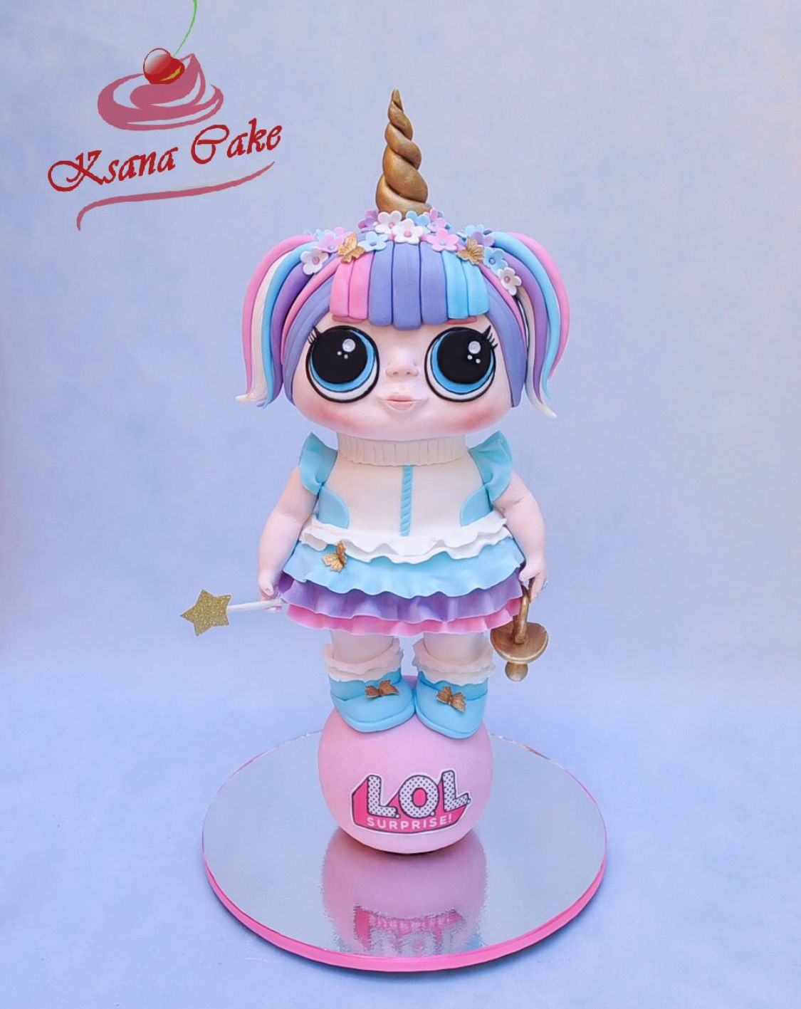 торт Кукла Лол | Куклы, Идеи для торта и Торт