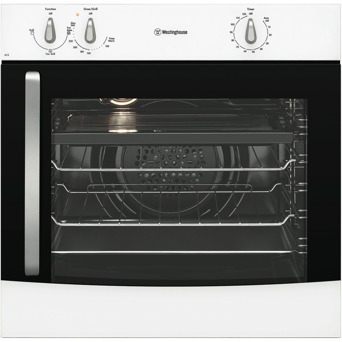 Westinghouse Wves613w R 60cm Electric Oven At The Good Guys Wall