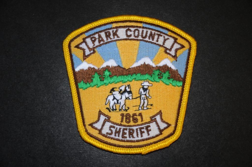 Park County Sheriff Patch, Colorado (Vintage) Police