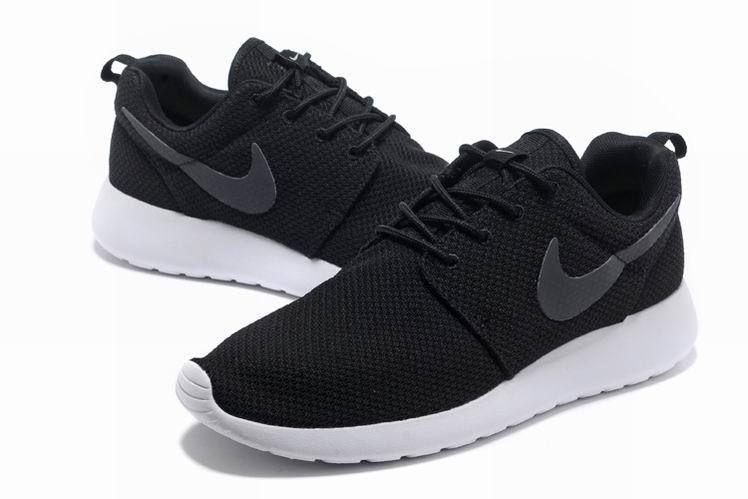 2013 Men Classic Black Nike Roshe Run