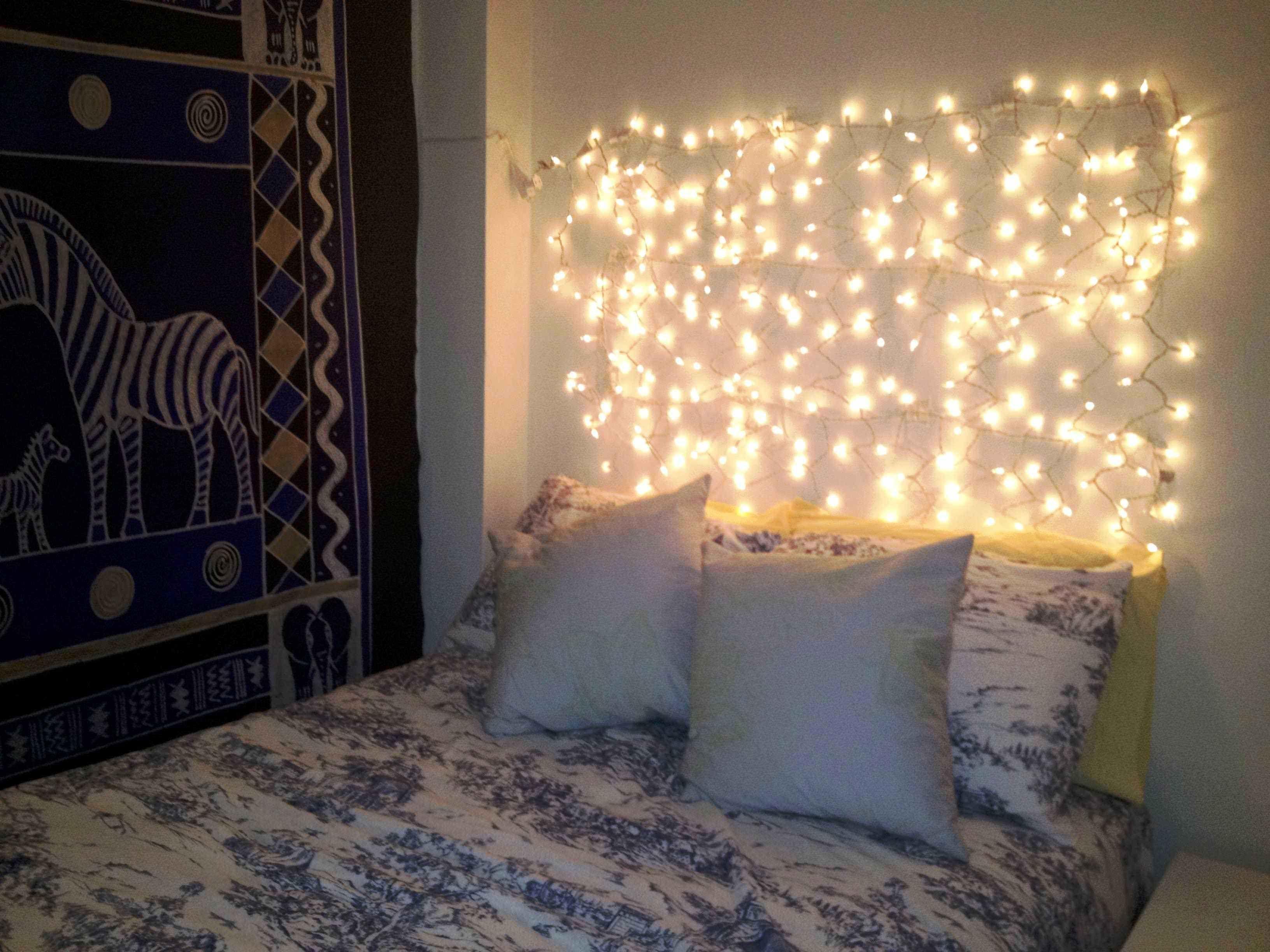 Tumblr bedroom lights -