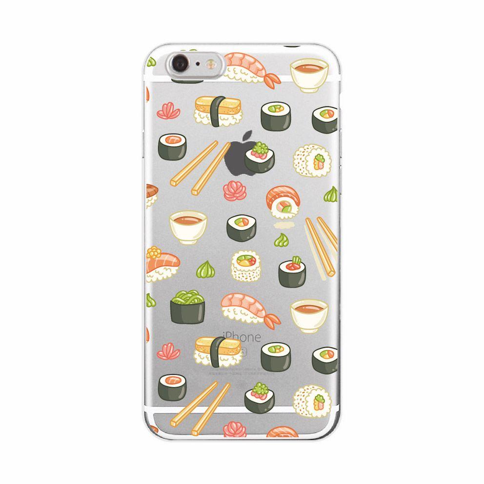 coque samsung s7 edge sushi