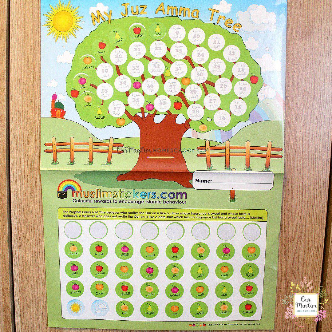 Juz Amma Quran For Kids Muslim Stickers