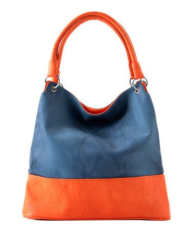 Take a look at this Denim Arabella Hobo by Shiraleah on #zulily today!