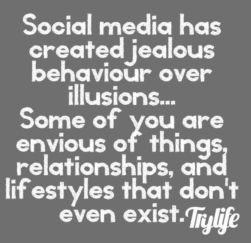 So True And It Ruins Relationships Causes Jealousy Etc Social Media Ruins Relationships Image Quotes Jealousy Quotes