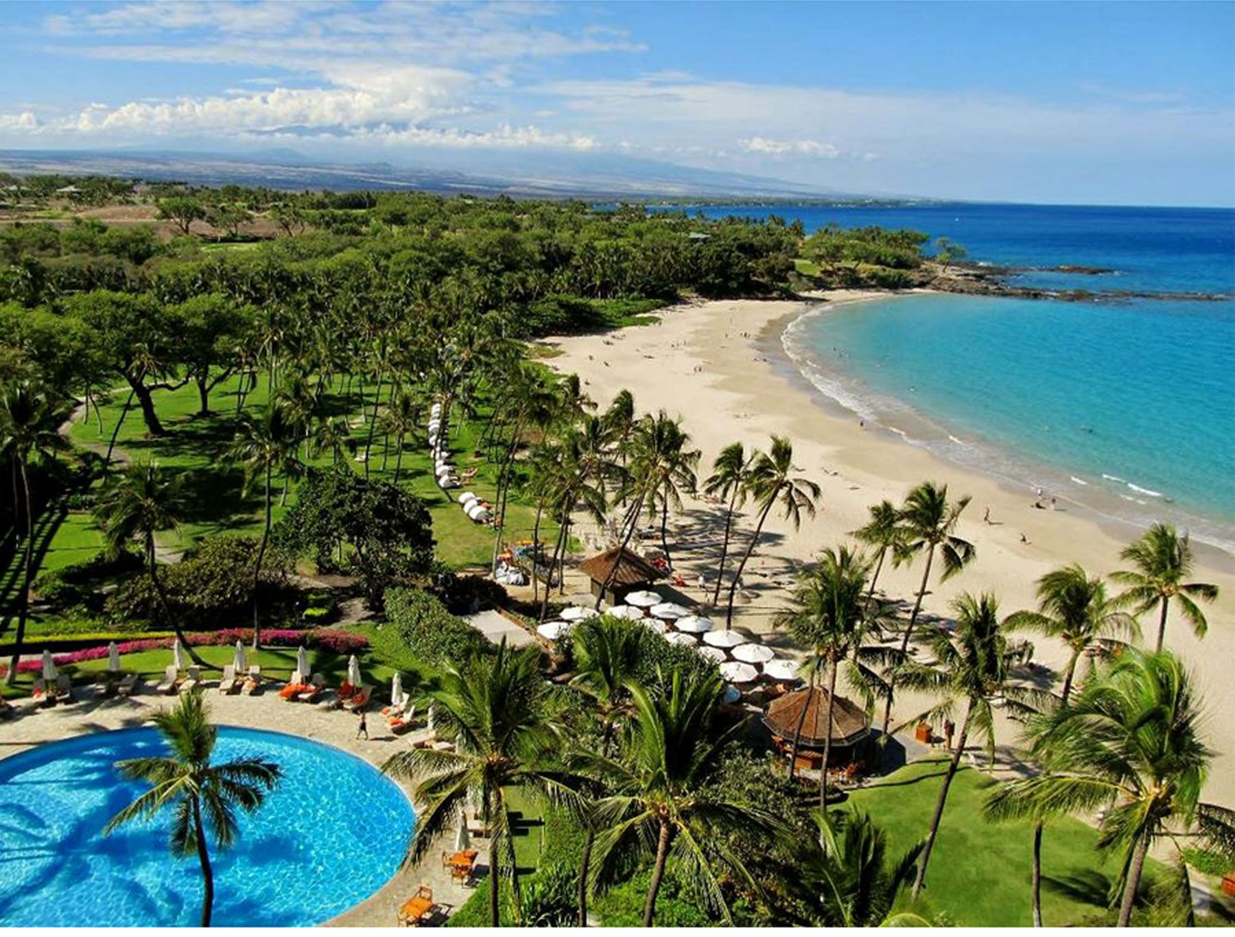 Mauna Kea Beach Resort Waimea Big Island Hawaii Big