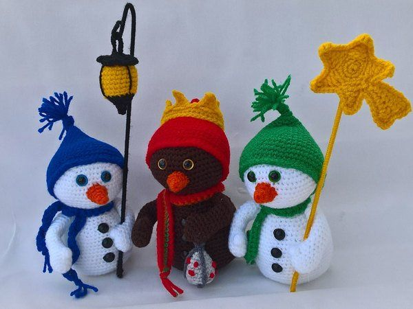 """""""The 3 wise man in snowman land"""""""