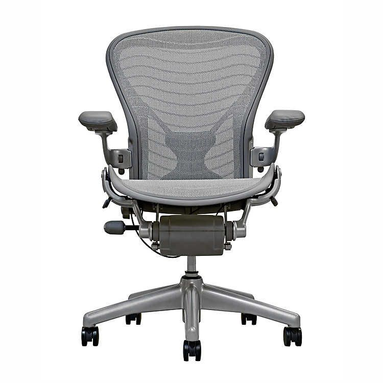Herman Miller Aeron Gray Wave And Posture Fit