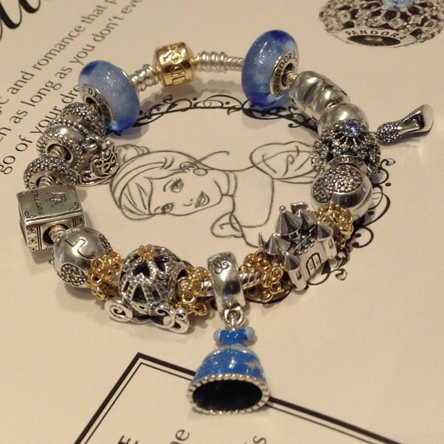 e7233589fec6 Pandora brand new Cinderella Disney Collection! This is perfect for the  princess in your life