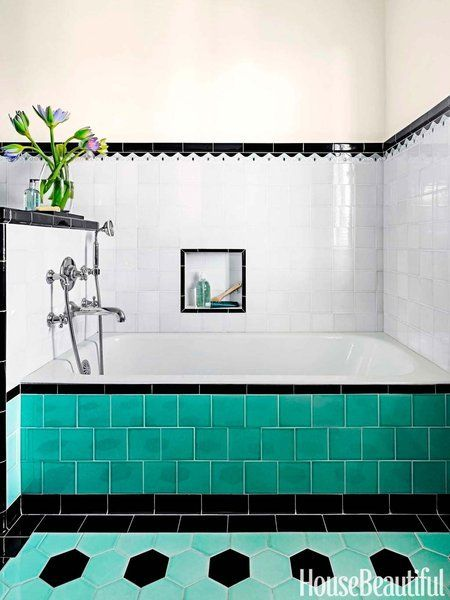 40 Ideas Para Decorar Tu Bano Con Azulejos Decorar Banos